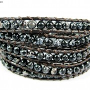 Hot-Colorful-Handmade-Mixed-Crystal-and-Gemstones-Beads-Wrap-Leather-Bracelet-370919965763-6a59