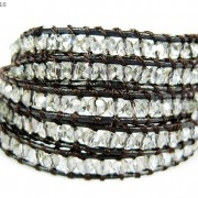 Hot-Colorful-Handmade-Mixed-Crystal-and-Gemstones-Beads-Wrap-Leather-Bracelet-370919965763-6ffd