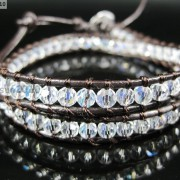 Hot-Colorful-Handmade-Mixed-Crystal-and-Gemstones-Beads-Wrap-Leather-Bracelet-370919965763-9a97