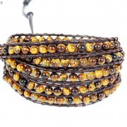 Hot-Colorful-Handmade-Mixed-Crystal-and-Gemstones-Beads-Wrap-Leather-Bracelet-370919965763-ec5e