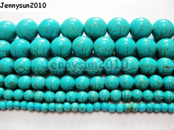 Turkey Turquoise Gemstone Spacer Beads Loose Beads Charm Strand New 15.5/'/'