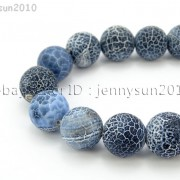 Matte-Frosted-Black-Fire-Crackle-Agate-Gemstones-Round-Beads-15-6mm-8mm-10mm-262198152811-5