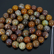 Natural-African-Green-Brown-Opal-Gemstone-Round-Beads-155039039-6mm-8mm-10mm-12mm-371824296497-8fa5