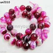 Natural-Agate-Gemstone-Faceted-Round-Beads-155039039-6mm-8mm-10mm-Pink-With-Stripe-251109293431-b5d3