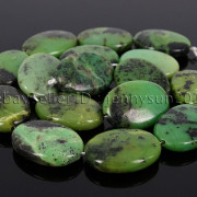 Natural-Australian-Chrysoprase-Gemstones-Oval-Loose-Spacer-Beads-18mm-25mm-30mm-262476885663-e2bf
