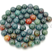 Natural-Blood-Stone-Gemstone-Round-Spacer-Beads-155039039-4mm-6mm-8mm-10mm-12mm-282323681030-bca6