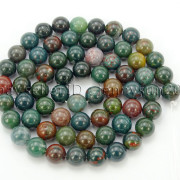 Natural-Blood-Stone-Gemstone-Round-Spacer-Beads-155039039-4mm-6mm-8mm-10mm-12mm-282323681030-ffb6
