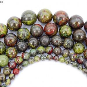 Natural-Bloodstone-Gemstone-Round-Spacer-Beads-155-4mm-6mm-8mm-10mm-12mm-281705191938