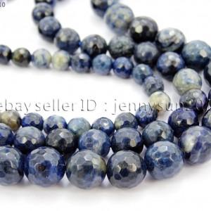Natural-Blue-Jasper-Gemstone-Faceted-Round-Spacer-Beads-15-4mm-6mm-8mm-10mm-281770981142