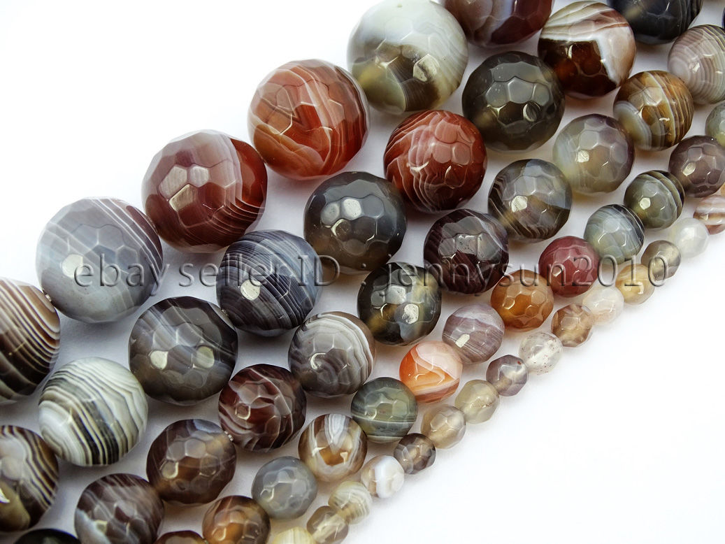 Faceted beads ~ BF325 15 12 length diamond cut beads 1 strand 8mm Moonstone Faceted  Beads wholesale beads natural beads