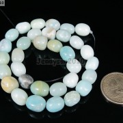 Natural-Colorful-Amazonite-Gemstone-Beads-16039039-Nugget-Coin-Rice-Square-Rectangle-261355000489-b97d