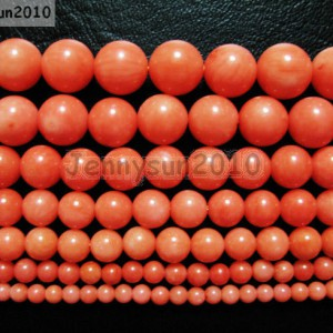 Natural-Coral-Gemstone-Round-Beads-Orange-16-3mm-4mm-5mm-6mm-7mm-8mm-9mm-281118747326