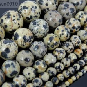 Natural-Dalmation-Spot-Jasper-Gemstone-Round-Beads-155-4mm-6mm-8mm-10mm-12mm-370929389979