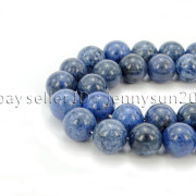 Natural-Dumortierite-Gemstone-Round-Spacer-Beads-155-6mm-8mm-10mm-12mm-282317113539-5