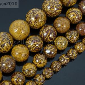 Natural-Elephant-Skin-Jasper-Gemstone-Round-Beads-155-6mm-8mm-10mm-12mm-282307207265