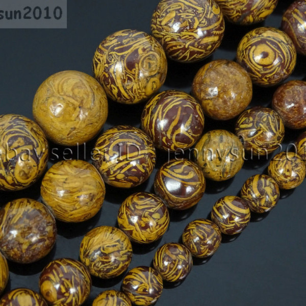 Natural-Elephant-Skin-Jasper-Gemstone-Round-Beads-155-6mm-8mm-10mm-12mm-282307207265