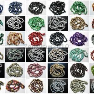 Natural-Gemstone-5-8mm-Chip-Beads-35-Lapis-Hematite-Turquoise-Malachite-Coral-281149565353