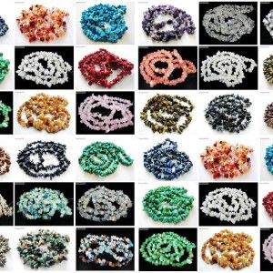 Natural-Gemstone-8-12mm-Healing-Nugget-Spacer-Beads-35-For-Necklace-Bracelet-261291970057