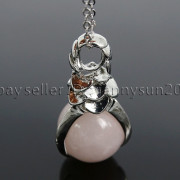 Natural-Gemstone-Round-Ball-Eagle-Claw-Falcon-Talons-Healing-Pendant-Charm-Bead-262762610662-5177
