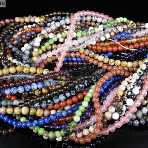Natural-Gemstones-35mm-4mm-45mm-Round-Loose-Beads-15-16-Pick-Stone-281218524775