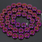 Natural-Hematite-Gemstone-Round-Donut-Ring-Spacer-Loose-Beads-10mm-16039039-Strand-371802208895-8e58