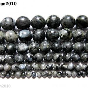 Natural-Larvikite-Labradorite-Gemstone-Round-Beads-16-4mm-6mm-8mm-10mm-12mm-370722203921