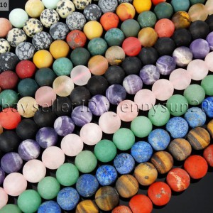 Natural-Matte-Frosted-Gemstone-Round-Loose-Beads-15-4mm-6mm-8mm-10mm-12mm-281712397304