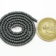 Natural-Matte-Hematite-Gemstones-2mm-x-3mm-Faceted-Rondelle-Loose-Beads-16039039-282281927897-ca5e