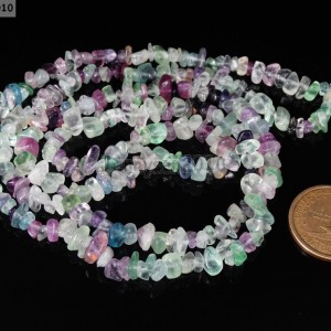 Natural-Multi-Colored-Fluorite-Gemstone-Freeformed-5-8mm-Chip-Nugget-Beads-35-261265668470