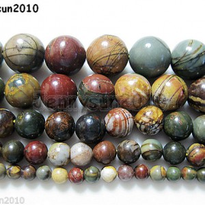 Natural-Picasso-Jasper-Gemstone-Round-Beads-16-Strand-4mm-6mm-8mm-10mm-12mm-280968288640