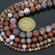 Natural-Red-Lightning-Agate-Gemstone-Round-Spacer-Beads-155-4mm-6mm-8mm-10mm-262803277642-2