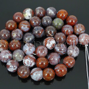 Natural-Red-Lightning-Agate-Gemstone-Round-Spacer-Beads-155039039-4mm-6mm-8mm-10mm-262803277642-a195