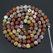 Natural-Red-Lightning-Agate-Gemstone-Round-Spacer-Beads-155039039-4mm-6mm-8mm-10mm-262803277642-f6c7