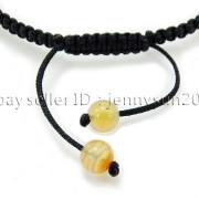 Natural-Reiki-Chakra-Gemstones-Round-Beads-Handmade-Adjustable-Bracelet-Healing-262784805350-12