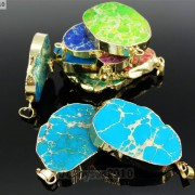 Natural-Sea-Sediment-Jasper-Gemstone-Nugget-Sliced-Necklace-Pendant-Charm-Gold-261862210560-4