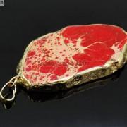 Natural-Sea-Sediment-Jasper-Gemstone-Nugget-Sliced-Necklace-Pendant-Charm-Gold-261862210560-eb14