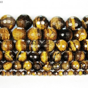 Natural-Tigers-Eye-Gemstone-Faceted-Round-Beads-15-2mm-4mm-6mm-8mm-10mm-12mm-261316743081
