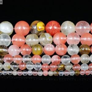 Natural-Watermelon-Quartz-Tourmaline-Gemstone-Round-Beads-155-4mm-6mm-8mm-10m-281364810303