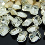 Quality-Czech-Clear-Crystal-Rectangular-Octagon-Fancy-Stones-Faceted-Foiled-Back-370715434508-1f9a