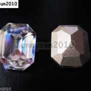 Quality-Czech-Clear-Crystal-Rectangular-Octagon-Fancy-Stones-Faceted-Foiled-Back-370715434508-5ecd