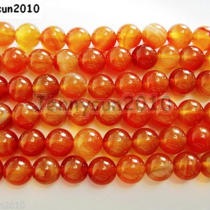 Red-Carnelian-Natural-Agate-Gemstone-Round-Beads-155-4mm-6mm-8mm-10mm-12mm-261043467634