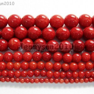 Red-Natural-Coral-Gemstone-Round-Spacer-Beads-16-2mm-3mm-4mm-5mm-6mm-7mm-8mm-261043539221