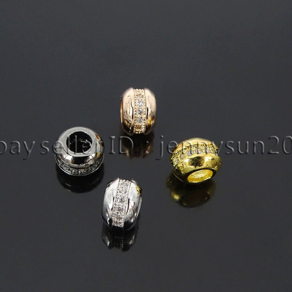 Single-Row-Zircon-Gemstone-Pave-Wheel-Beads-Bracelet-Connector-Charm-Beads-282284343058