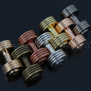 Solid-Metal-Dumbbell-Stripe-Style-Bracelet-Necklace-Connector-Spacer-Charm-Beads-371783261000-3
