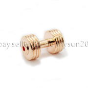 Solid-Metal-Dumbbell-Stripe-Style-Bracelet-Necklace-Connector-Spacer-Charm-Beads-371783261000-8810