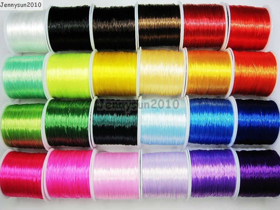 Strong Stretchy Elastic String Cord Thread For Diy Bracelet Necklace Jewelry Jennysun2010