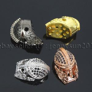Zircon-Gemstones-Pave-Sparta-Helmets-Masks-Bracelet-Connector-Charm-Beads-371675308063