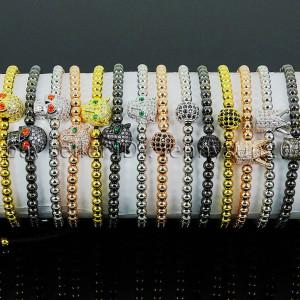 Zircon-Rhinestone-Adjustable-Macrame-Yoga-Bracelet-18K-Silver-Gold-Plated-Unisex-262486615221